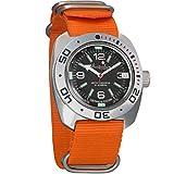 Vostok Amphibian Automatic Mens WristWatch Self-winding Military Diver Amphibia Ministry Case Wrist Watch #710640...
