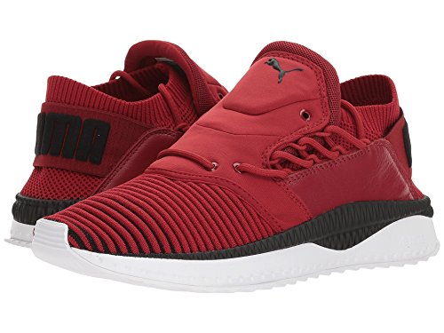 [PUMA(プーマ)] メンズランニングシューズ?スニーカー?靴 Tsugi Shinsei evoKNIT Red Dahlia/Puma Black/Puma White 7.5 (25.5cm) D - Medium