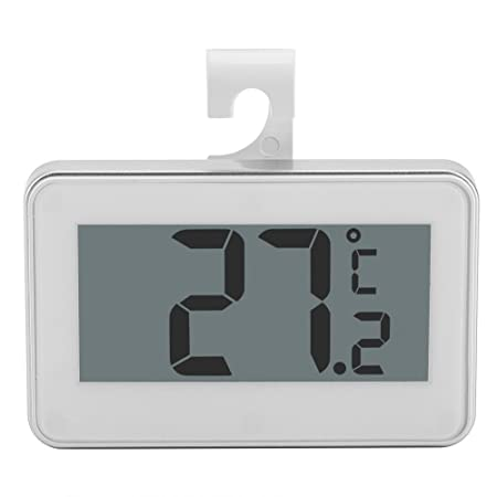 Termómetro Digital de Frigorífico Congelador con Pantalla LCD ...