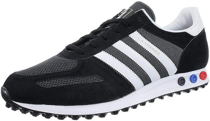 huevo tonto Bendecir  adidas LA Trainer F34275 Men's Trainers / Sports Shoes in Black/White/Grey,  Size 12: Amazon.de: Schuhe & Handtaschen
