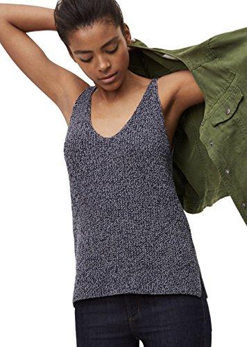 Ann Taylor LOFT Women's - Marled Cotton V-Neck Sweater Tank Top (X-Large)