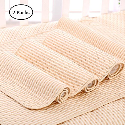 Waterproof Dog Sheet - Laak Pee Pads for Dogs,2-Pack, Large (28x36), for Housebreaking, Incontinence, Training, Travel. Reusable and Washable, Waterproof and Fast Absorbing. Great for Bed Wetting, Mattress Protection