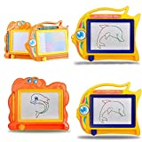 Dontdo Children Kids Early Intellection Toys Magnetic Drawing Board Sketch Pad Doodle Writing Craft Art (Random Color and Style)