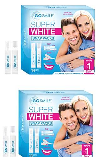 (Go Smile Super White Teeth Whitening System Snap Pack Kit {2 pk})