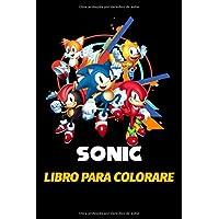 Sonic Libro para colorear: Fácil y divertido