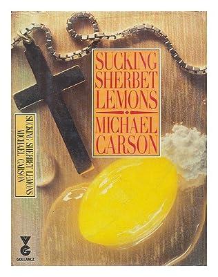 book cover of Sucking Sherbet Lemons