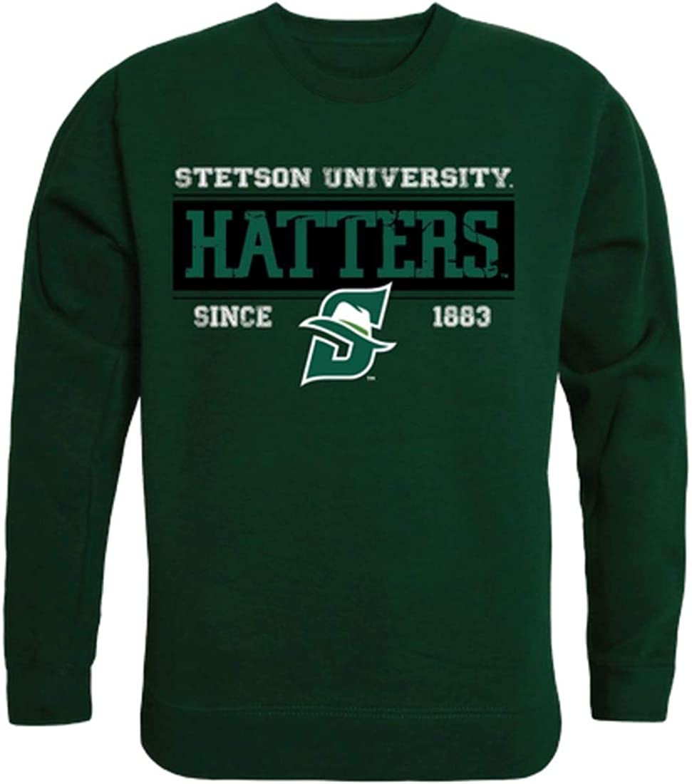 Stetson University Hatters Established Crewneck Pullover Sweatshirt Sweater Forest