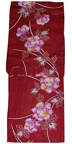 受益者目に見える異邦人浴衣 トールサイズ 変わり生地 レディース ゆかた 大きいサイズ 背の高い方用 花柄 絞り柄