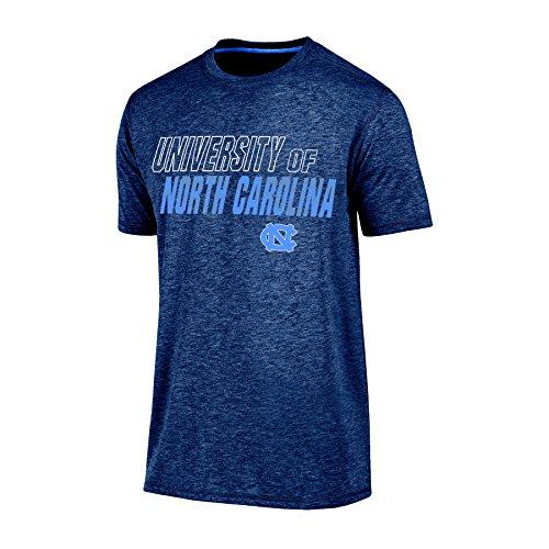 - Champion (CHAFK) NCAA North Carolina Tar Heels Men's Short Sleeve Crew Neck Tee, X-Large, Navy Heather