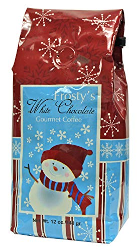 Boston's Best Coffee Roasters Frosty's White Chocolate Gourmet Ground, 12 Ounce