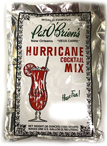 Pat O'briens Hurricane Mix - Gallon Size - (6 Pack) by Pat O'Brien's