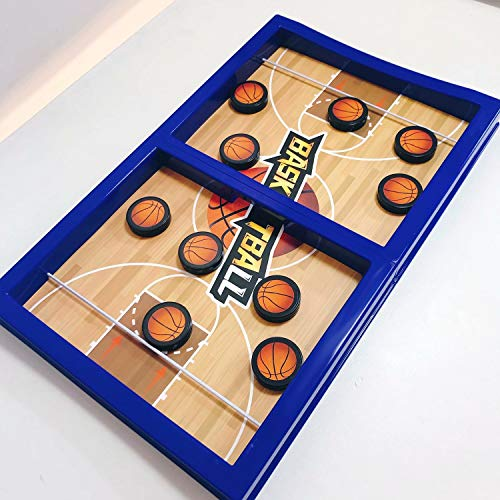 Fast Sling Puck Game Paced Table Desktop Battle Ice Hockey Game for Adults and Kids Parent-Child Winner Board Games Interactive Toy