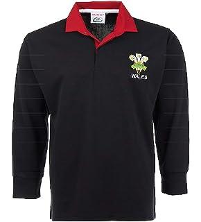 f18b4c88eaf Wales Welsh Retro Cymru Rugby ShirtsBY ACTIVE WEAR SIZE S M L XL XXL 3xl  4xl 5xl Full Sleeve…