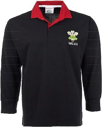 Activewear - Camiseta de rugby de manga completa con logotipo ...