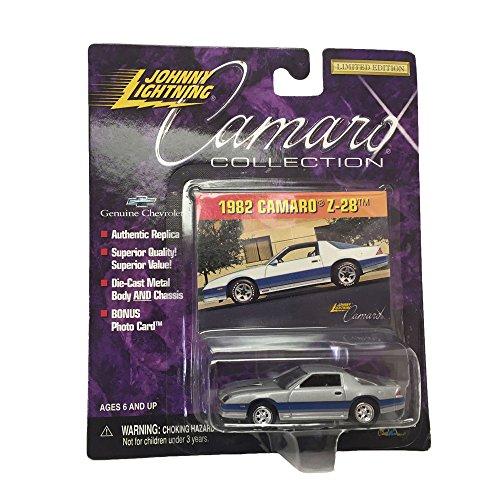 Johnny Lightning Camaro Collection 1982 Camaro Z-28 1:64 Scale Diecast Car Replicas (64 Diecast Replica Car)
