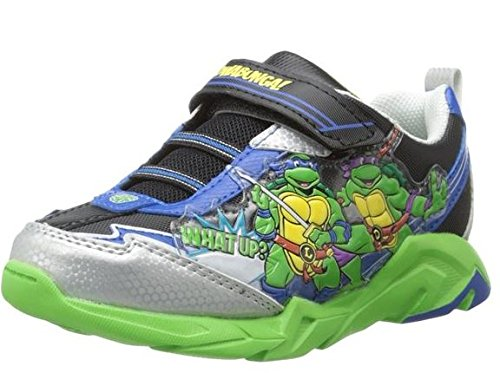 teenage mutant ninja turtles boys toddler shoes sneakers. Black Bedroom Furniture Sets. Home Design Ideas