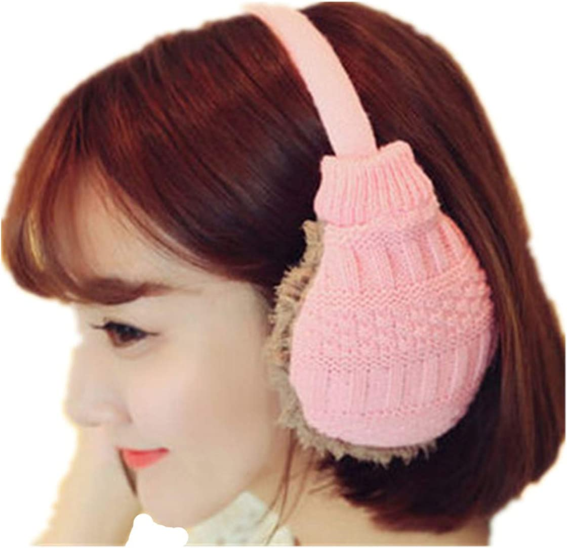 Women Sweet Plush Fluffy Warm Fur Earmuffs Earlap Ear Cover