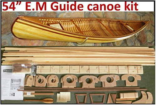 54'' Canoe model kit, Red Cedar Deluxe by Canoe Model Kits