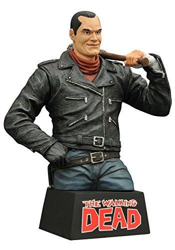 Diamond Select Toys The Walking Dead: Negan Vinyl Bust Bank by Diamond Select