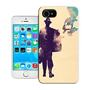 Unique Phone Case Personalities pattern birds flying out of jacket positivity optimism spread joy life art inspiration illustration drawing painting Hard Cover for iPhone 4/4s cases-buythecase