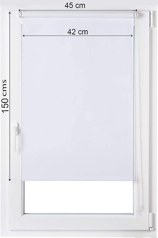60 x 150 cm Estoralis C-1068 Estor enrollable Transl/úcido Tela Digital