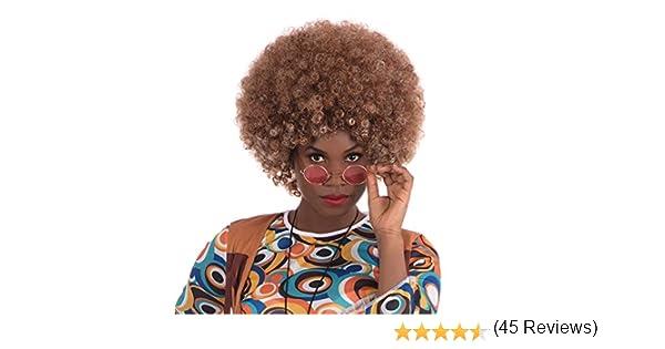 Beyonce Afro Wig. Brown (disfraz): Bristol Novelty: Amazon.es ...