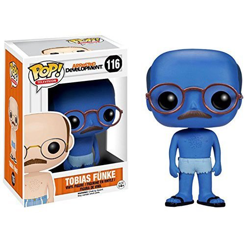Funko POP! Arrested Development Tobias Funke (Blue Chase) 3.75