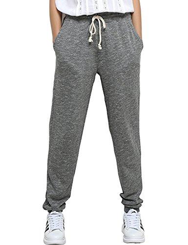 SUNNYME Womens Sweatpants Joggers Sports Pants Drawstring Trackpants With Pockets