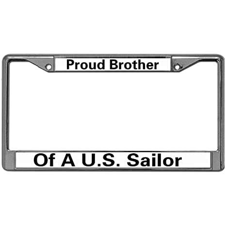 U.S MARINES MARINE Metal License Plate Frame Tag Holder