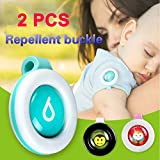 UNAKIM--2PCS Mosquito Repellent Badge Button Baby Pregnant Woman Mosquito Repellent Clip