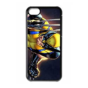 iPhone 5c Cell Phone Case Black Wolverine Q0275648