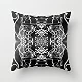 KooNicee Geometry Pillowcover 16 X 16 Inches / 40 By 40 Cm Best...