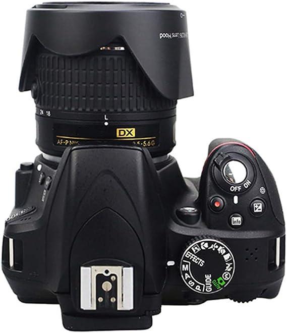Yangjingya HB-39 Lens Hood Shade for Nikon Camera AF-S DX Nikkor 16-85mm f//3.5-5.6G ED VR Lens