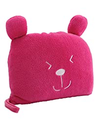 Lug UCB Agent Potts Blanket and Pillow, Rose Pink