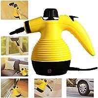 Portable 1050 Watt Handheld Steam Cleaner Steamer W/Attachment Cleaning Supplies