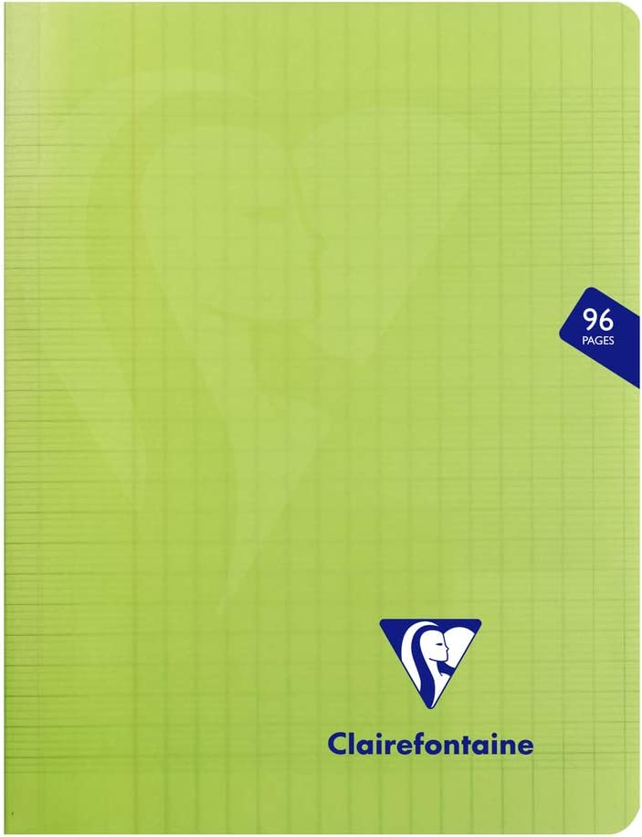 /verde Mimesys 17/x 22/cm seyes Polypro quaderno rilegato con 48/fogli/