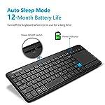 Victsing Ultra-Slim Mini Wireless Touchpad Keyboard