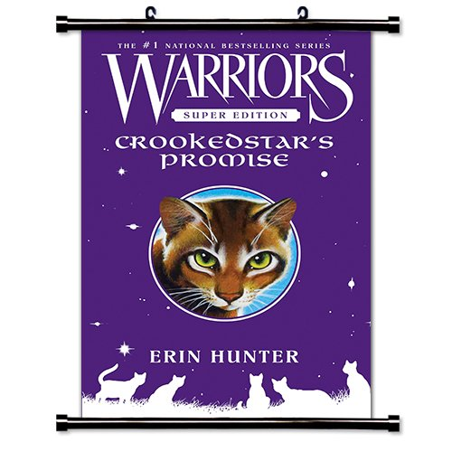 Warriors: Crookedstar's Promise Erin Hunter Fabric Wall Scroll Poster
