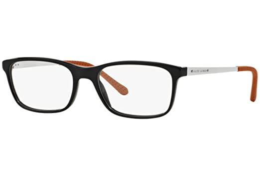 b521d4b4af82 Ralph Lauren RL 6134 Men's Eyeglasses Black 55 at Amazon Men's ...