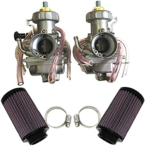 ZOOM ZOOM PARTS YAMAHA BANSHEE 350 CARBURETOR AIR FILTER CLEANER 1987-2006 350 YFZ 350 CARB - Yamaha Banshee Stock