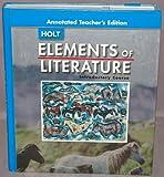 Elements of Literature, Beers, 0030683815