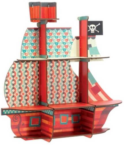Djeco Estantería Los Tesoros Del Pirata 53203