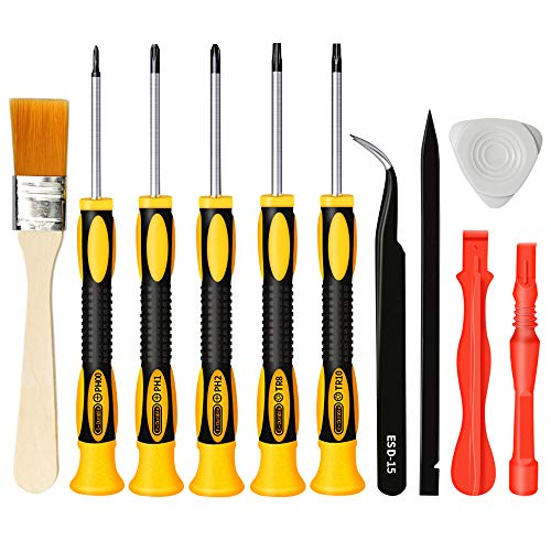 (E.Durable Screwdriver Kit for Playstation PS3, Complete Repair Cleaning Tool Kit for All Sony PlayStation Consoles PS3 / PS4 / Vita / PS1 / PS2 / PSV/PSP, etc (PS3))