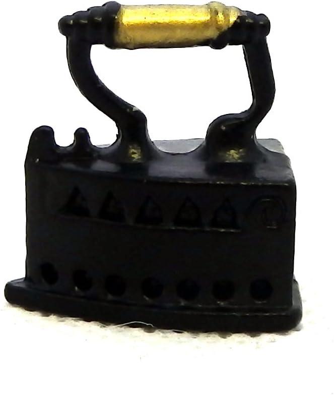 Melody Jane Dolls Houses Victorian Flat Iron Miniature 1:12 Kitchen Laundry Accessory 1:12