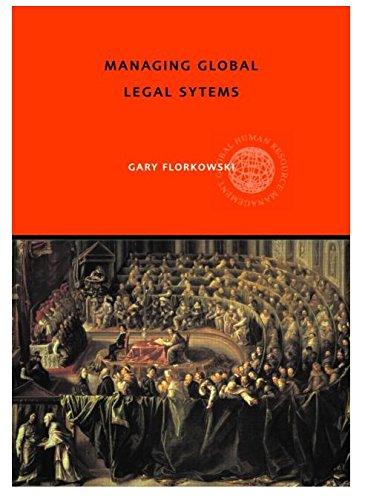 Managing Global Legal Systems: International Employment Regulation and Competitive Advantage (Global HRM)