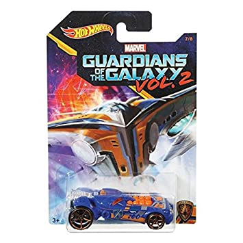 Hot Wheels 2017 Guardians of the Galaxy 1:64 Vol. 2 (Rocketfire)