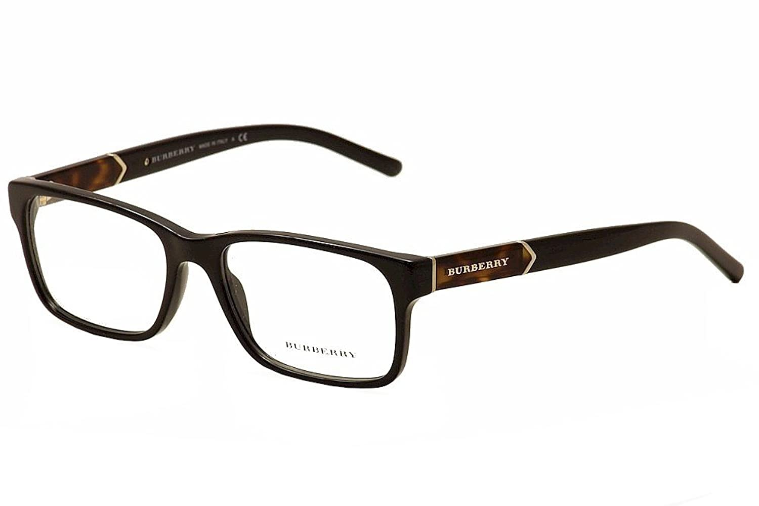Amazon.com: Burberry Men\'s BE2150 Eyeglasses Black 55mm: Shoes