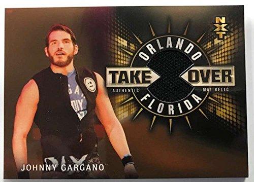 2018 Topps Road to WrestleMania NXT TakeOver Orlando Mat Relics Bronze #MR-JG Johnny Gargano NM-MT MEM /99 from Road to WrestleMania