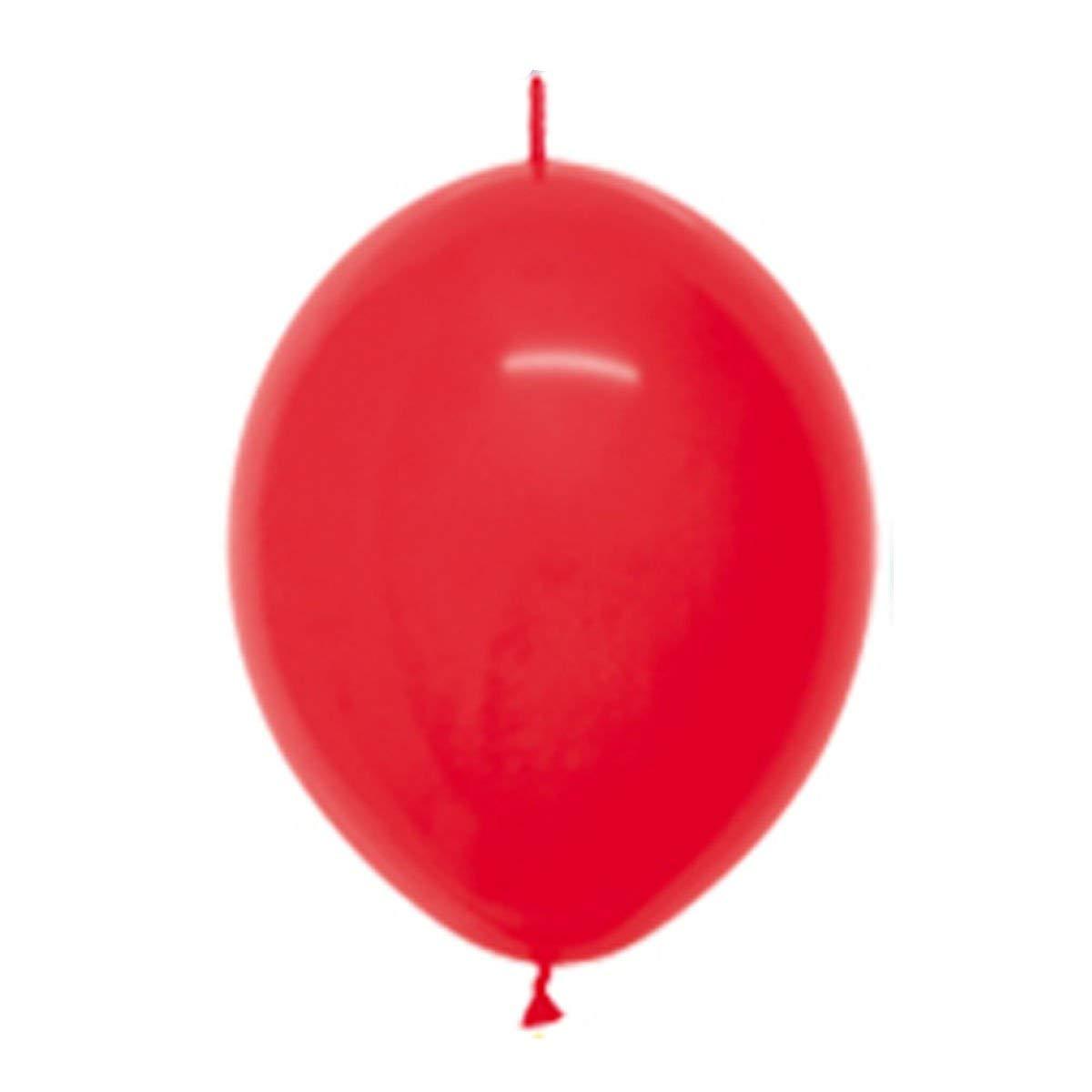 アリードリュークイックリンク10インチラテックスバルーン AX-AY-ABHI-98494  (30 pack), Red B00ZASMQPY