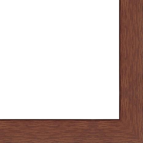 amazon com 16x40 16 x 40 cherry flat solid wood frame with uv